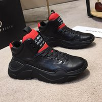 Chaussures Haut Acheter Hiver Hommes Cuir Baskets SSzn5x