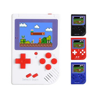 CoolBaby RS-6 Portátil Retro Mini consola portátil Game 8 bit Color LCD Game Player para FC Game free DHL