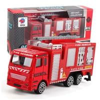 MUQGEW سبيكة هندسة لعبة التعدين سيارة شاحنة الأطفال هدية عيد النار الانقاذ الحالية لعب للاطفاللعبة # 4-5