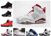 2019 Nouveaux Hommes Jumpman re-old 6 XI Chaussure De Basket-ball Chaussures de Sport Athlétique re-old 6s Infrared Sneakers Rouge Taille 36-47