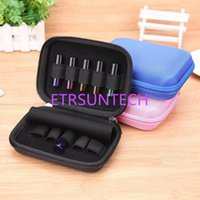 10 Slot Bottle Case Protect for 10ML Rollers Botella de Aceites Esenciales Bolsa de Almacenamiento Travel Travel Organizer Holder QW7947