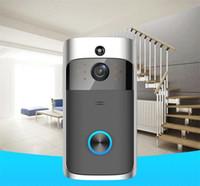 Интеллектуальный визуальный дверной звонок Умный дом ночное видение беспроводной HD видео дверной звонок WiFi визуальный домофон дверная камера 720P для IOS и Android