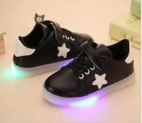 2018 girls, board shoes, big boys, luminous shoes, boys with...