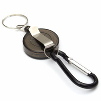 MOONBIFFY, Retractable Key Chain High Resilient Rope Key Ring...