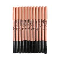 Hot vendas MENOW P09015 cabeça dupla 3 cor não é fácil de borrar caneta delineador lápis de sobrancelha + caneta corretivo maquiagem dhl frete grátis