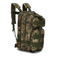 Hot Outdoor 30L 3P Tactical Military Backpacks Unisex Multif...