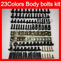 Verkleidungsschrauben Full Screw Cit für Yamaha YZFR6 98 99 00 01 02 YZF-R6 YZF R6 1998 1999 2000 2001 2002 Körpermuttern Schrauben Nussschrauben Kit 25farben