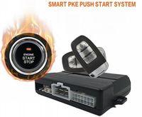 العالمي متعددة الوظائف الذكية PKE السلبي بدون مفتاح أدخل ادفع بدء نظام انذار سيارة واحدة انقر تشغيل المحرك