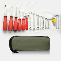 Холст сумка для инструментов организатор инструмент портативный водонепроницаемый мешок для хранения многофункциональный ремонт инструменты для мелких металлических деталей