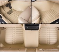 Esteiras do assoalho do carro de alta qualidade para Nissan Bluebird Ensign Murano Rouge X-trail Altima Versa Sunny-style 3D car-styling forros do tapete