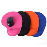 Tapis de souris Poignet Protéger Trackball optique PC Épaissir Tapis de souris Tapis de souris confort doux Tapis de souris Souris