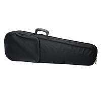 Новый прочный ткань Пух треугольник форма чехол с бежевый подкладка для 4/4 Скрипка аксессуары черный