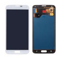 Para Samsung S5 LCD G900F Pantalla LCD Pantalla táctil Conjunto de digitalizador Compatible para Samsung Galaxy S5 G900 G900F LCD