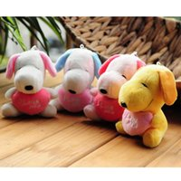 2018 New Cute Cartoon Anime Snoopy Plush Toy Horse Puppy Exp...