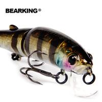 Bearking 2017 Fishing Lure Sz-M113 5PCS Minnow 113mm 13.7g Depth Wobbling Minnow Lure Plastic Hard Bait Fishing Wobblers
