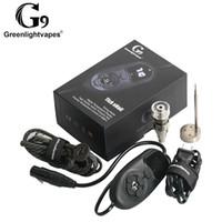 Оригинальный Greenlightvape G9 Электрический ТИК Enail Ногтей Dabber Коробка Контроля Температуры С Ti Ногтей Carb Cap Водопроводные Трубы Бонг Воск Испаритель
