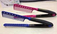 50st styling frisör hår rätare diy salong frisör styling hår skönhetsvård rätare v kam sminkverktyg