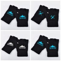 3 Styles 2pcs pair Fortnite Knitted Gloves Noctilucous Lumin...