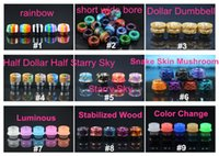 2018 Newest 810 Resin Drip Tip Dollar Starry Sky Drip Tips C...