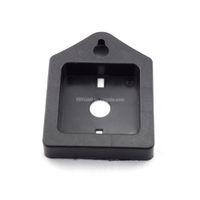 100 * 75 * 18mm Square contraportada DIY del reloj de pared de piezas Movimiento de cuarzo Holder Reloj dispositivo de fijación Montaje Caja horologe Accesorios de reparación