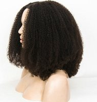레이스 풀발 인간의 머리카락 4B 4C 흑인 여성, 브라질 Humain Remy 130 % (14 '' '변태) Diva1