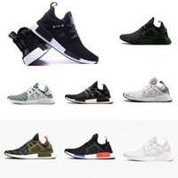 2018 New NMD XR1 Blue White Captain America Sneakers Women M...