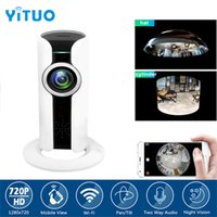 720P Mini Wireless IP Camera Wireless WIFI Visione notturna IR P2P Remote View Home Sorveglianza CCTV Security Cam P2P YITUO