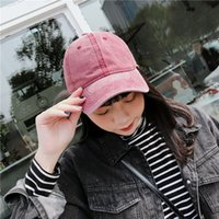 Hat lady Korean version of the old vintage cap made with a c...