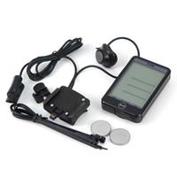 Fahrrad-Stoppuhr Computer-Hintergrundbeleuchtung Wired Wasserdicht Touch-Screen-Fahrrad-Geschwindigkeitsmesser-Licht Stoppuhr gute Qualität fre