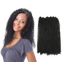 Synthetic Water Curl Weft Pure Curly Braiding Hair Extension...