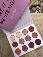 Nuovo arrivo Colourpop Ombretto Cosmetici Datelo dritto Limitata eidtion 20 colori Matte Shadows drop shipping