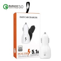 For Fast Quick Charge 3. 0 Fast Dual USB Phone Car Charger fo...