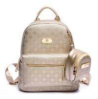 Высокое качество 100% популярная мода натуральная кожа сумка женская сумка Рюкзак Открытый Пакеты Сумки Молния сумки женщины девушки 7779