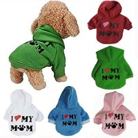 Pet Dog Coats Soft Christmas Halloween Gifts Puppy Hoodie Sw...
