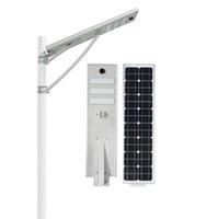 Solarstraßenlaterne 20W 30W 50W LED imprägniern integriertes Entwurfs-Radarsensor PIR-Sensor IP66 im Freien intelligentes Licht