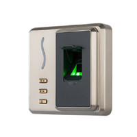 ZKTECO SF101 Su Geçirmez Metal Muhafaza IP65 Parmak İzi Biyometrik RFID Erişim Kontrol Okuyucu Erişim Denetleyicisi USB İstemcisi