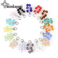 20pcs lot Colorful Crystal Tassel Lobster Clasp Grapes Charm...