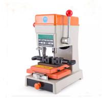 Nieuwste Laser Defu Car Key Cutting Copy Copy Duplicating Machine 368A met volledige Set Cutters voor het maken van sleutels Locksmith gereedschappen onderdelen LLFA