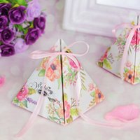50pcs creative starry sky candy paper box Double- sided color...