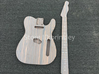 Brinkley High Quality Electric Guitar TL kit de bricolaje conjunto caoba body arce diapasón kits de guitarra, guitarra eléctrica semielaborado produc
