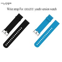 Original Mjobs wrist strap for AMAZFIT Youth Version smartwa...