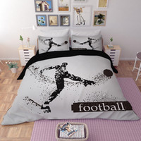 3D Bedding Set 3pcs Sporting King Of Boxing Goalkeeper Footb...