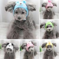 Новый Симпатичный Прекрасный Шляпа Собаки Гуд Тедди Собаки Личности Собаки Красивая Ницца Формы Животного Одеваются Прекрасный Кепка Собак Кошки Розовый / Красный