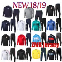 2018 19 Real Madrid soccer jacket tracksuit Psg football Fre...
