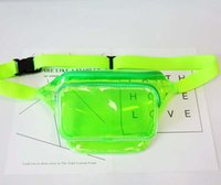 3pcs Women Pvc Jelly Transparent Fanny Packs Summer Beach Wa...