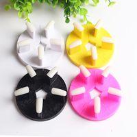 1 unid Lotus Nail Seat Nail Art Display Falsa Punta Marco de Formación de Uñas Extraíble Uñas Equipo de Arte Manicura Soporte Soporte Herramientas