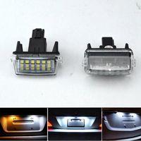 2 шт./лот для Toyota Yaris Vitz Camry Corolla Prius C Ractis Verso S LED номерной знак светодиодные лампы света OEM заменить