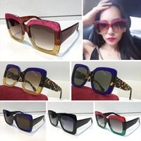 4aa80f202a5 2018 Nova moda óculos de sol das gucci mulheres 7 cores 0083 quadro de  design de