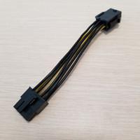 그래픽 비디오 디스플레이 카드 PCI-E PCIe 6Pin 여성 8Pin 남성 어댑터 전원 케이블 CORD 18AWG 와이어 10cm PC DIY