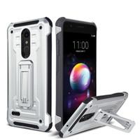 Capas telefônicas para LG Aristo2 Stylo7 Style6 K52 iPhone 12 11 XS XR XSmax Híbrido Armadura Vantage Dual Kickstand Oppbags